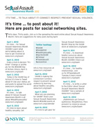 SAAM 2012 Social Networking Posts Cover