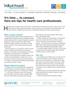 SAAM 2012 Tips for Health Professionals Cover